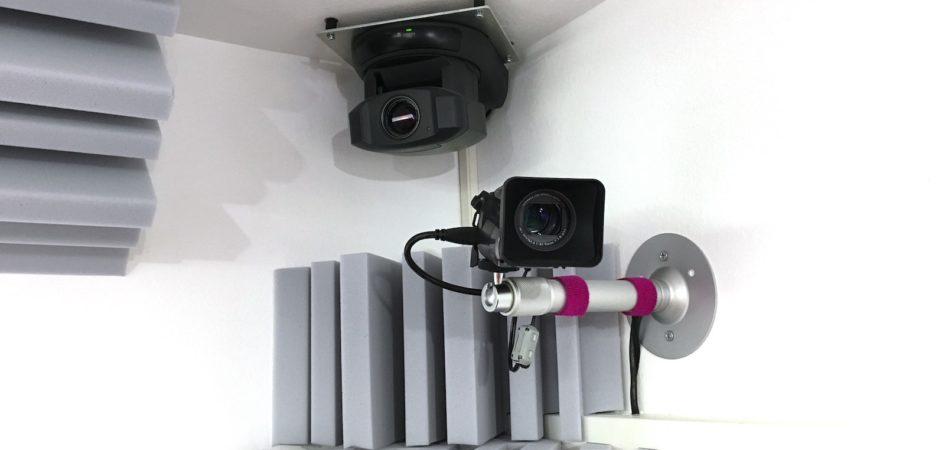 Je nach Studio haben wir bis zu 4 Kameras, die Euch Bilder in HD Qualität liefern.
