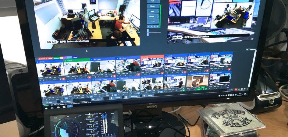 Hier läuft alles zusammen. Kameras, Infos und Musik werden hier zu dem verarbeitet was Ihr im Stream sehen könnt.
